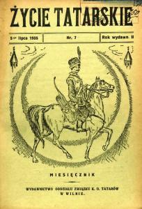 Okładka 'Życia Tatarskiego'