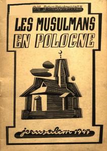 Okładka książki Leona Bohdanowicza 'Les musulmans en Pologne'